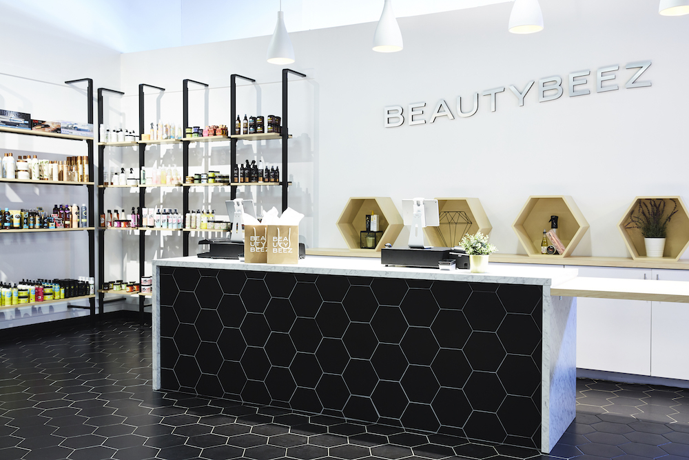 Beautybeez Retail Space